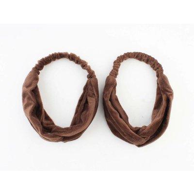 "Hairband ""Emilia"" brown"