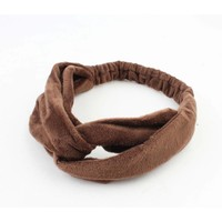 "Hairband ""Emilia"" brown"