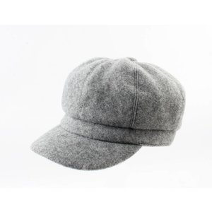 "Baker Boy cap ""Julian"" grey"