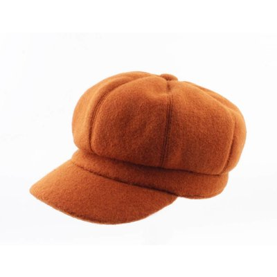 "Baker Boy cap ""Julian"" brown"