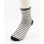 "Socks ""Amalia"" black/white, per 2 pairs"
