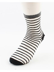 """Sokken """"Amalia"""" zwart/wit, per 2 paar"""