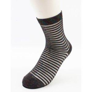"""Socken """"Sylvana"""" braun/weiß, doppelpack"""