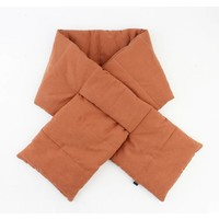 "Scarf ""Jey"" brown"
