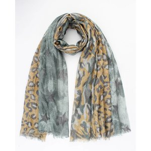 """Scarf """"Chassey"""" green"""