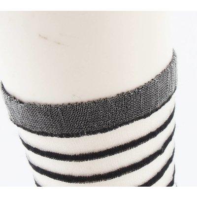 """Socken """"Amalia"""" schwarz/weiß, doppelpack"""