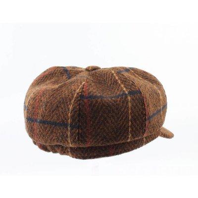"""Baker Boy cap """"Maxim"""" brown"""