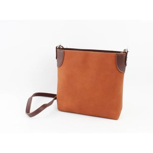 "Cross body bag ""Aimy"" brown"