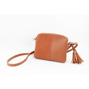 "Cross body bag ""Dila"" brown"