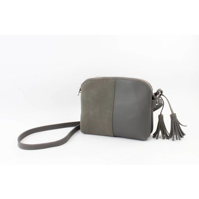 "Cross body bag ""Dila"" grey"