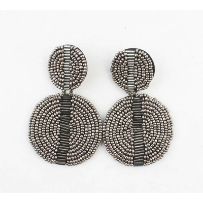 "Earring ""Jyllian"" anthracite"
