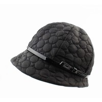 "Hat ""Chrystel"" black"