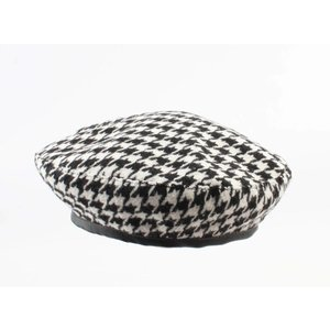 "Baret ""Rosel"" black/white"
