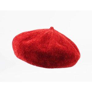 """Baskenmütze """"Cristal"""" rot"""