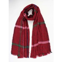 "Scarf ""Laurell"" red"