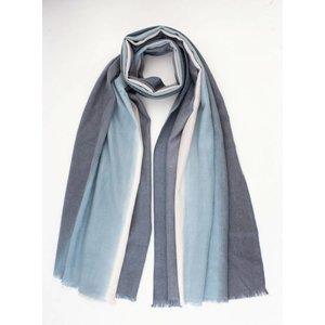 """Schal """"Shantell"""" blau"""