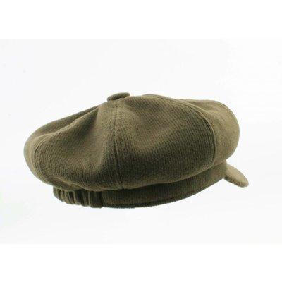 """Newsboy cap """"Jacob"""" green"""