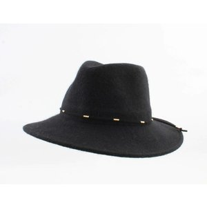 "Panama hat ""Domino"" black"