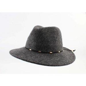 "Panama hat ""Domino"" anthracite"