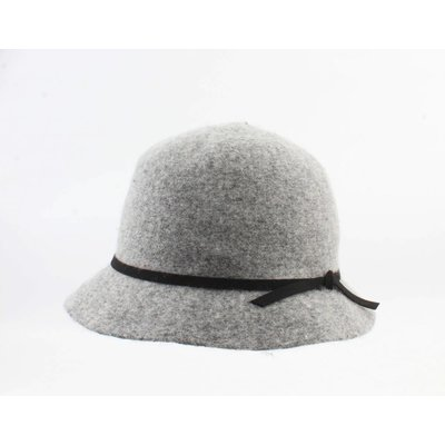 "Ladies hat ""Socorro"" grey melee"