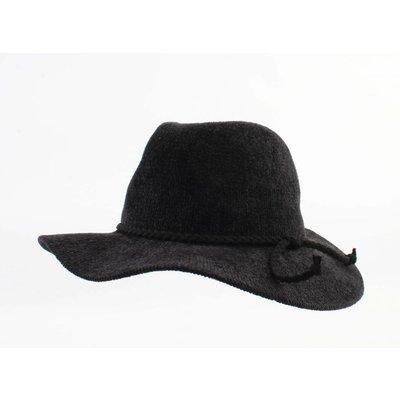 "Panama hat ""Solenn"" black"