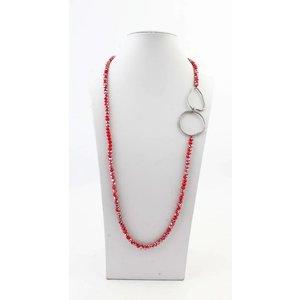 "Necklace ""Juna"" red"