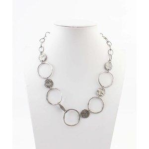 """Necklace """"Petra"""" silver"""