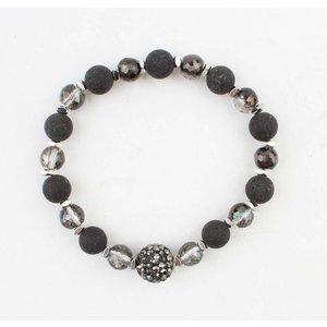 "Bracelet ""Liana"" anthracite"