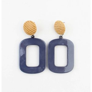 "Earring ""Jalin"" blue"