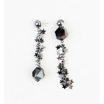 "Earring ""Aleida"" anthracite"