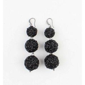 "Earring ""Silvana"" black"