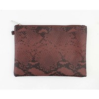"Clutch ""Sera"" brown"
