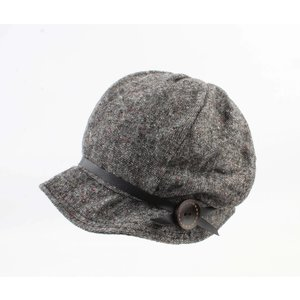 """Ladies hat """"Flore"""" grey"""