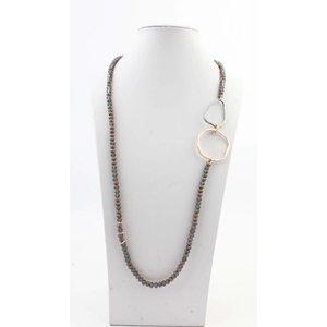 """Necklace """"Juna"""" old pink"""
