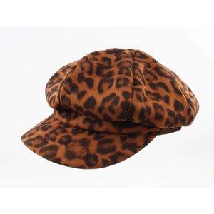 "Newsboy cap ""James"" dark brown"