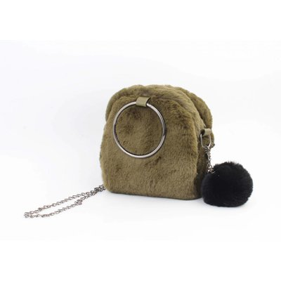 "Crossbody tas ""Patience"" groen"