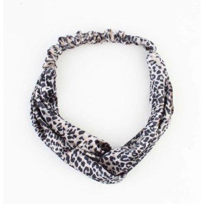 """Haarband """"Noélie"""" grijs"""