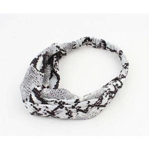 """Haarband  """"Jaline"""" grau, doppelpack"""