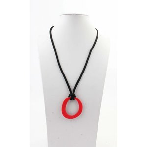 "Necklace  ""Deanne"" red"