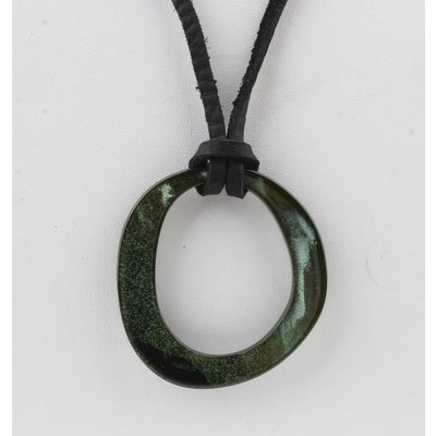 "Necklace  ""Deanne"" green"