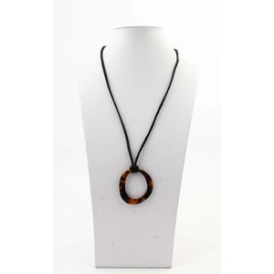 "Necklace  ""Deanne"" brown"