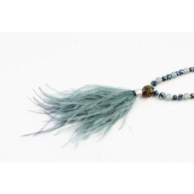 """Halskette  """"Liliane"""" grün"""