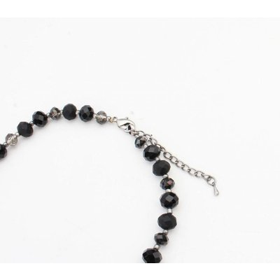 "Necklace  ""Liliane"" anthracite"