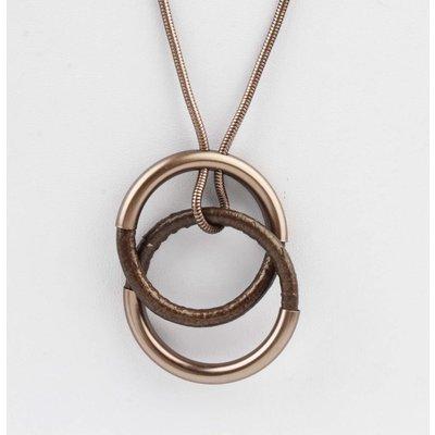 """Necklace """"Ingmar"""" brown"""