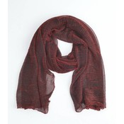 "Scarf ""Rosi"" red"