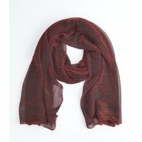 """Scarf """"Rosi"""" red"""