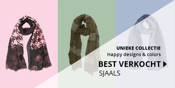 Happy Designs! Diverse kleuren sjaals