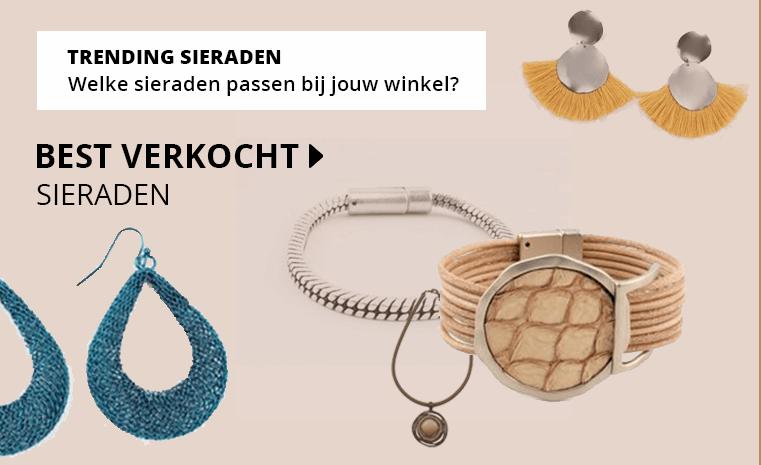 Trendy sieraden voor in je winkel!