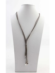"""Necklace """"Carly"""" grey"""