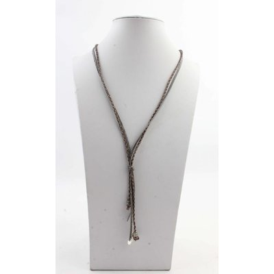 "Necklace ""Carly"" grey"